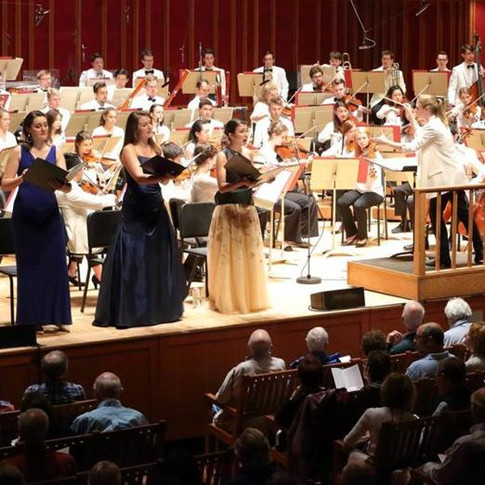 """World premiere of """"In America"""" by Michael Gandolfi, Tanglewood Music Center, July 2018"""