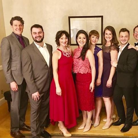 The cast of Sondheim on Sondheim, Symphony Hall, Boston, June 2017
