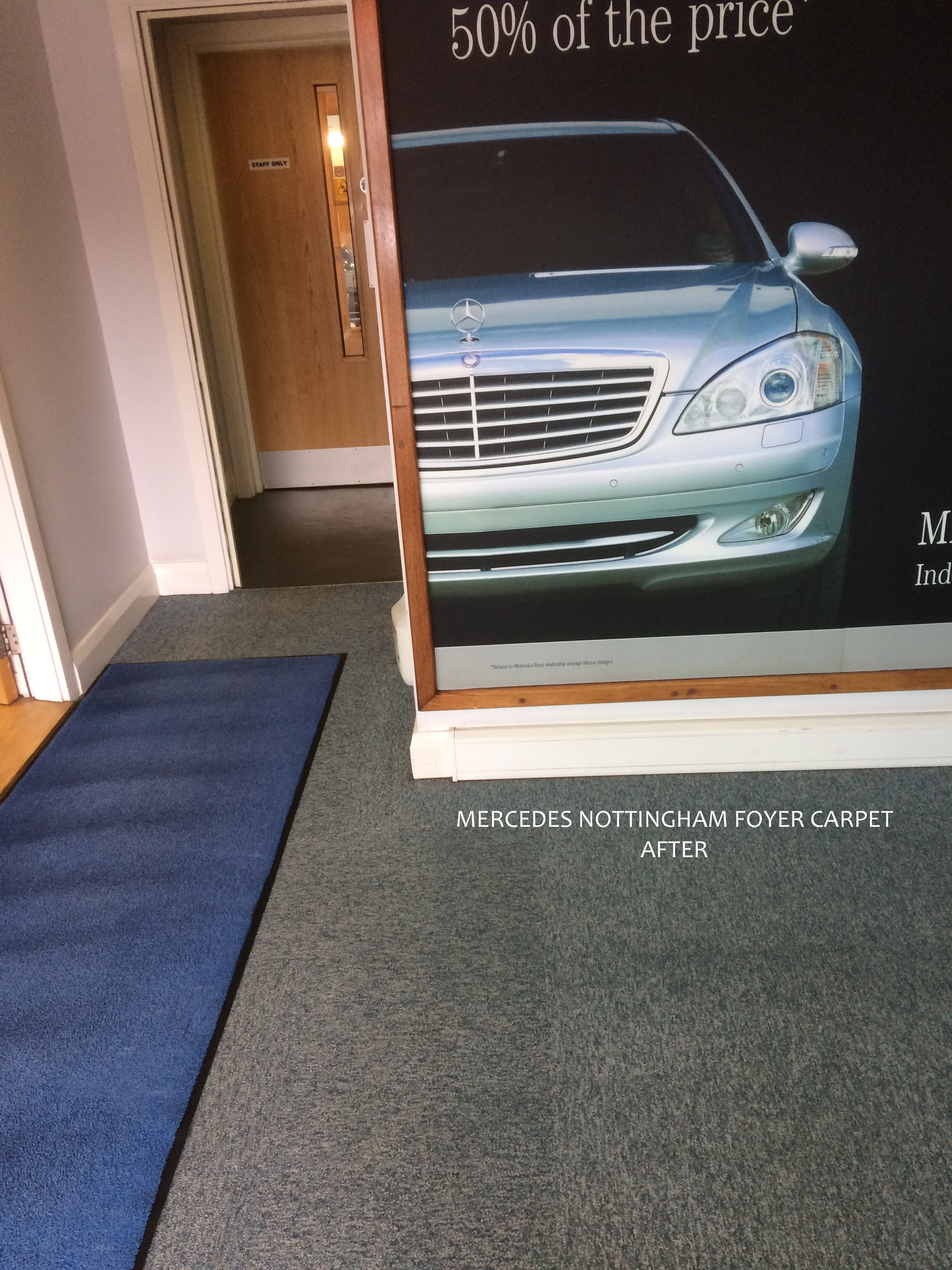 MERCEDS BENZ FOYER AFTER