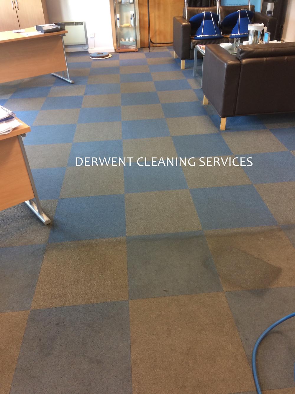 A busy Mercedes service centre gets the Derwent treatment.
