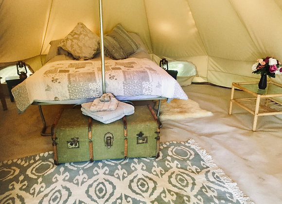 'Swallow' Luxury Double Bell Tent