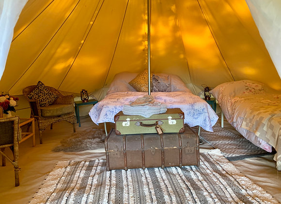 'Lark' Luxury Double Bell Tent