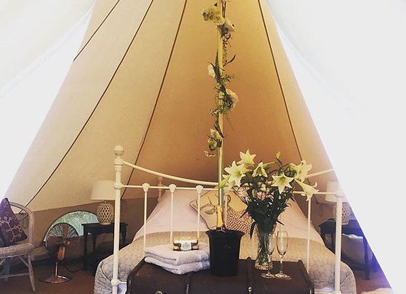 'Poppy' Luxury Double Bell Tent