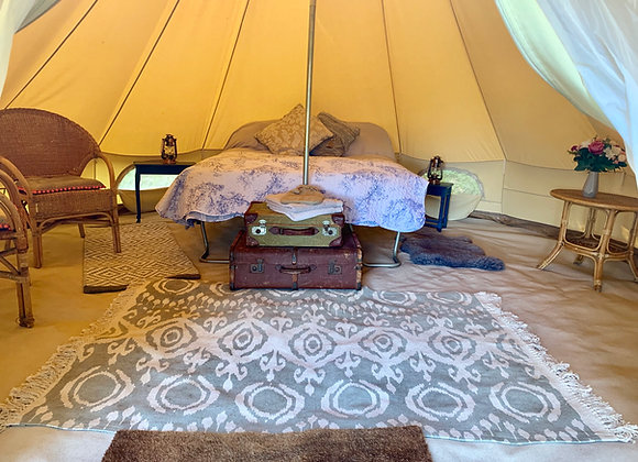 'Chestnut' Luxury Double Bell Tent
