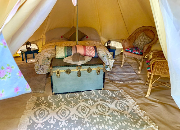 'Willow' Luxury Double Bell Tent