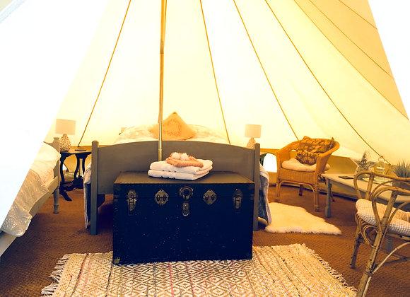 'Poppy' Bell Tent 12/08/21