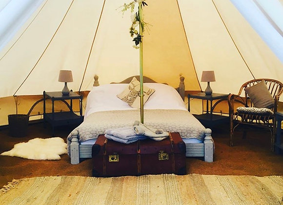 'Honeysuckle' Luxury Double Bell Tent