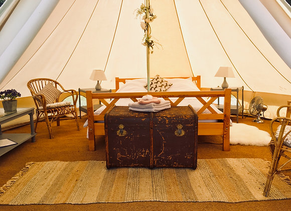 'Poppy' Luxury Double Bell Tent