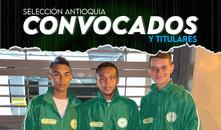 Titulares en la Selección Antioquia