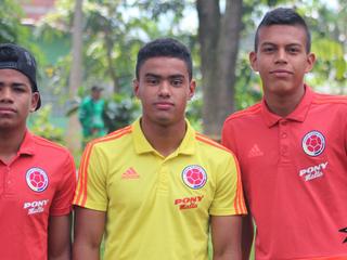 Girado, Pedrozo y Alcazar convocados a Selección Colombia U16