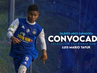 Tafur a la Selección Colombia sub 15