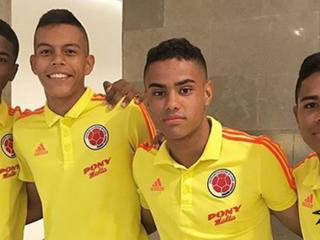 Pedrozo, Alcazar y Girado en sexto microciclo de Selección Colombia