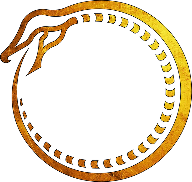 logo ouroboros pattern gold.png
