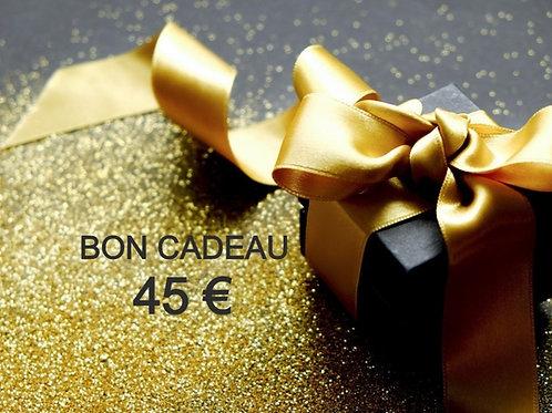Bon Cadeau 45 €