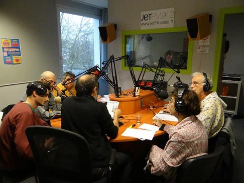Enregistrement de RadiOlive à Jet FM
