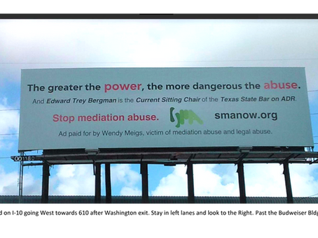 Fight Against Abuse Created by Judges, Mediators and Lawyers (Examples Included)