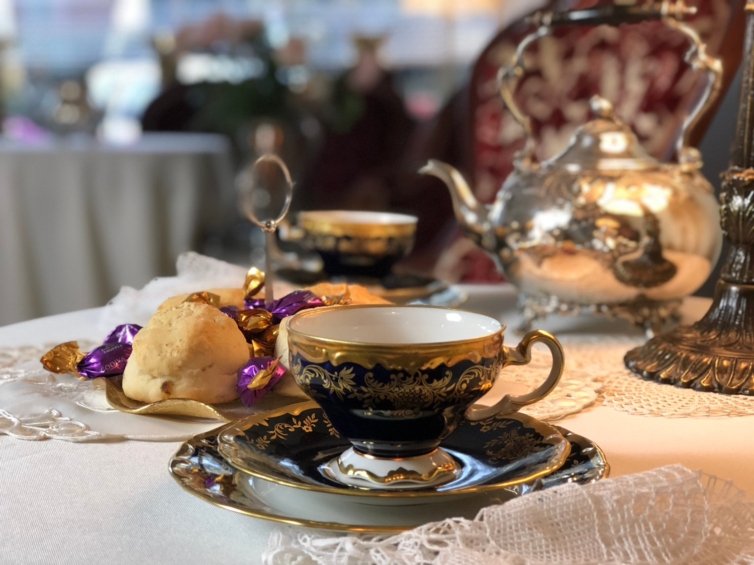Afternoon Tea Service for One