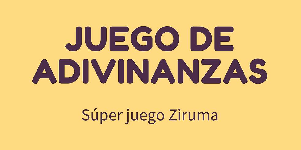 Súper juego Ziruma - Juego de adivinanzas