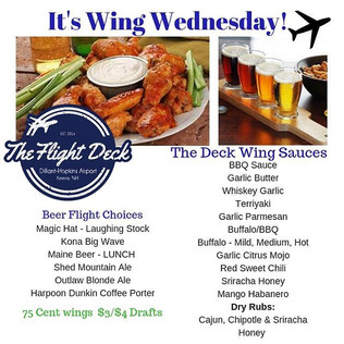 Hooray for great wings! Wing Wednesday m