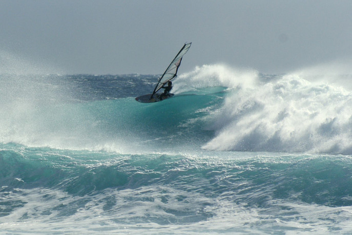In search of the big wave