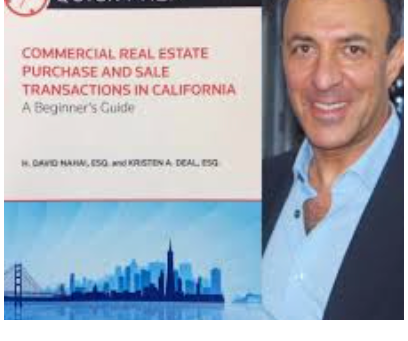 Thursday, January 12th, 2017 David Nahai's book, Commercial Real Estate Purchase and Sale...