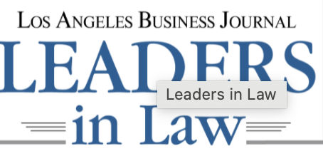 Monday, November 23rd, 2020 David Nahai was one of 4 finalists for the Leaders in Law award from...
