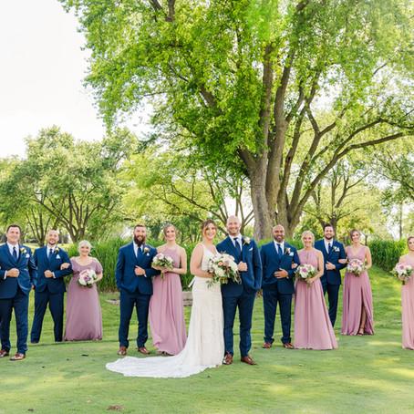 Bloomingdale Golf Club Summer Wedding | Emily & Nick