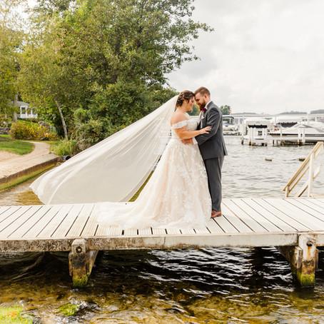 Abbey Springs Golf Course Fall Wedding | Ashton and John