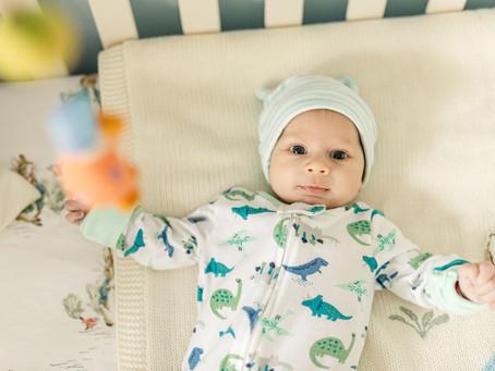 Saint Charles Lifestyle Newborn Session | Baby Raphael