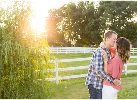 Northfork Farm Engagement | Kacie & Will
