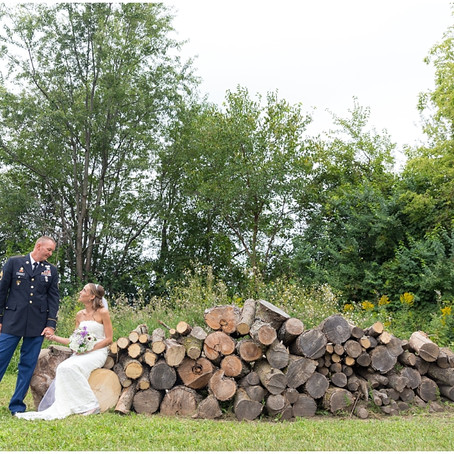 McHenry, IL Backyard Wedding | Lindsay + Mike