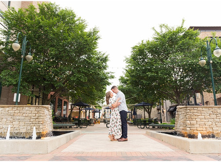 St Charles Engagement Session | Mary Beth & Ryan