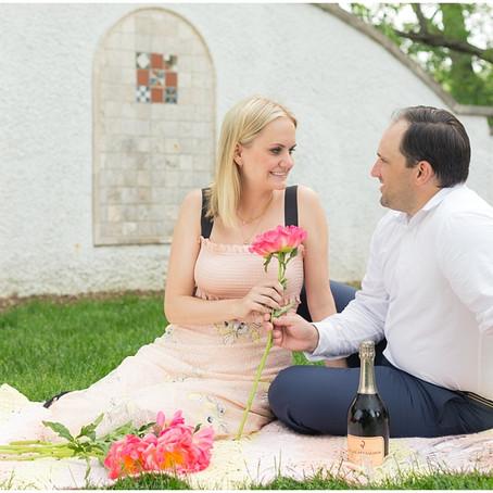 Wheaton Engagement Photos | Kellie + Matt