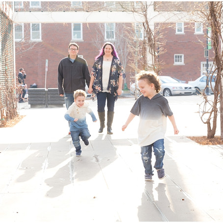 Family Portraits Around Tulsa's Brady District | Black Family