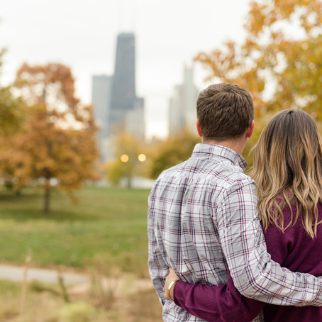 Peggy Notebaert Nature Museum Engagement Session | Carly and Dan