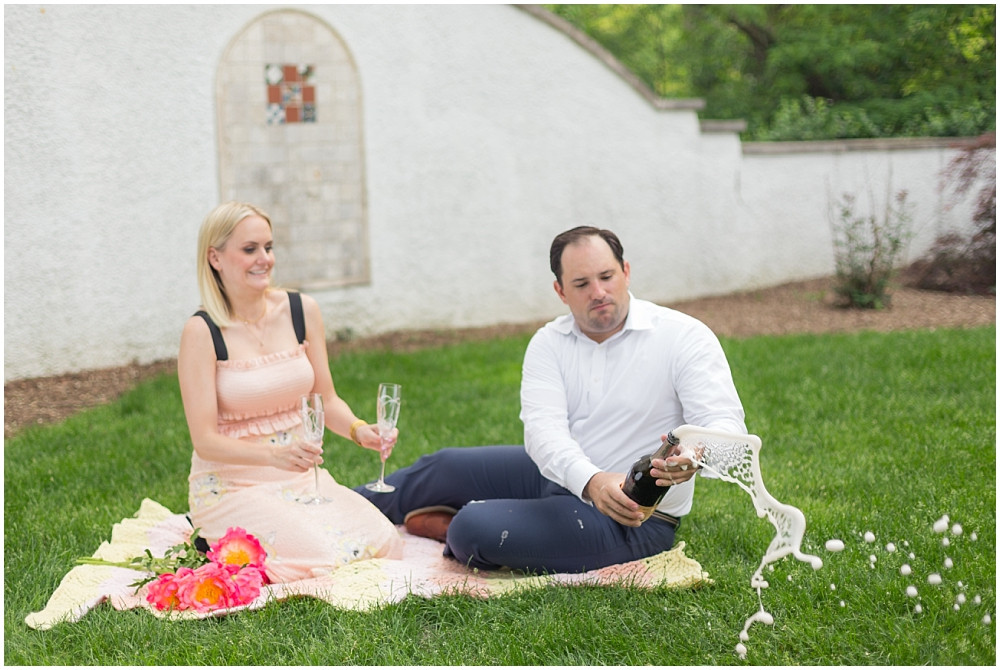 Wheaton Engagement Photo