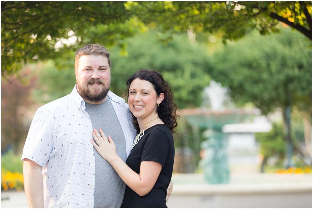 wheaton engagement photo