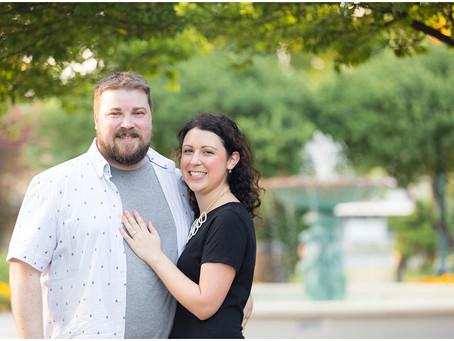 Wheaton Engagement Session | Susan & Brandon