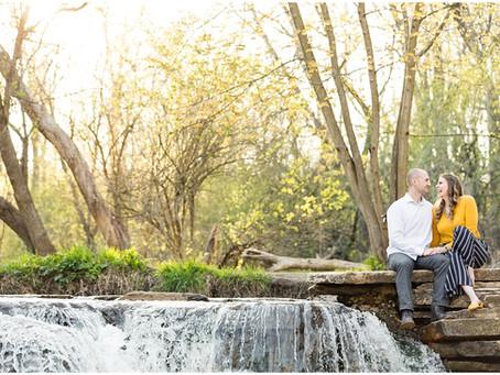 Waterfall Glen Engagement Session | Nicolette & Matthew