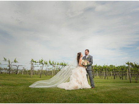 Acquaviva Winery Wedding | Amy & Mark