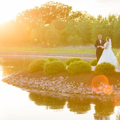 Spring Wedding at The Pavilion at Orchard Ridge Farm | Amanda & Brian