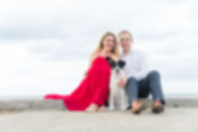 Montrose Beach Engagement Photo