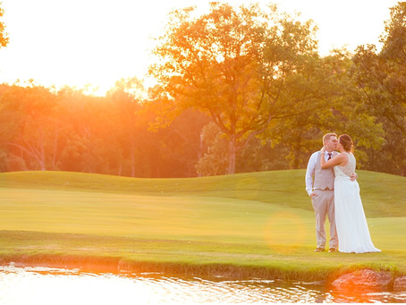 St Charles Country Club Wedding | Michelle & Adam
