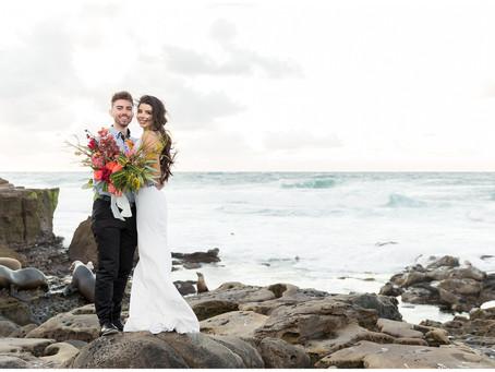 San Diego Wedding Portraits | Stephanie + Alex