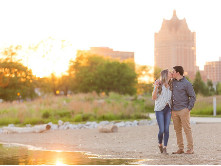 Milwaukee Engagement Session | Alex & David