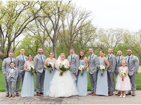 St Charles Wedding   Amanda + Eric