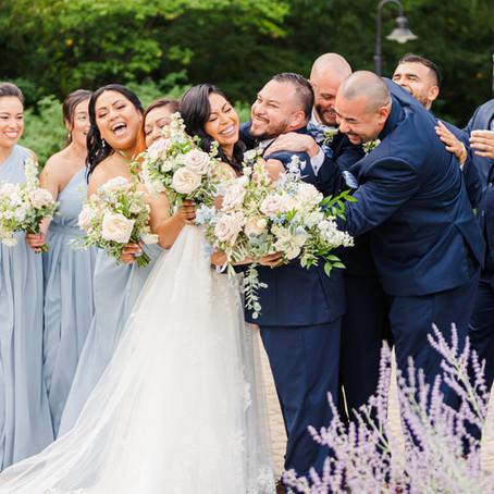 Morton Arboretum Summer Wedding at Thornhill | Alex & Abe