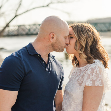 Geneva's Fabyan Forest Preserve Engagement Session | Emily and Nick