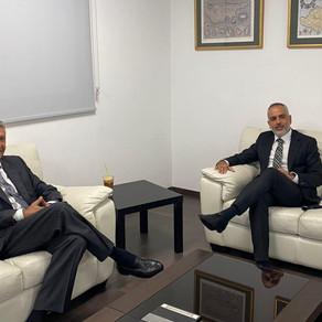Συνάντηση Προέδρου Συμμαχίας Πολιτών με Υφυπουργό Ναυτιλίας