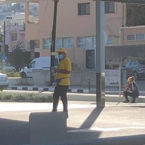 Η Συμμαχία Πολιτών για παρεμπόδιση φιλανθρωπικού έργου από άτομο που υποδύθηκε τον αστυνομικό